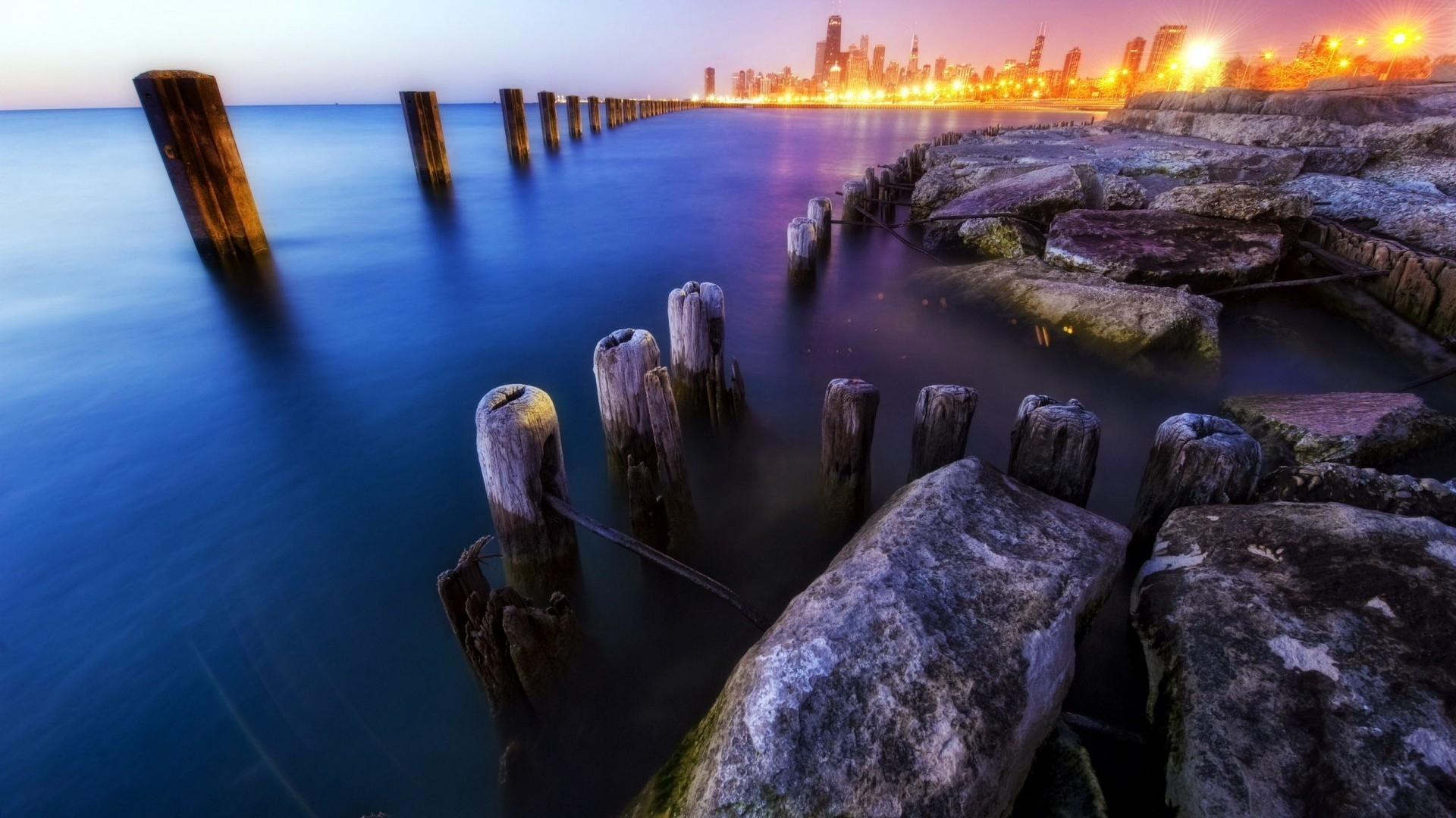 1920x1080 Chicago Illinois desktop PC and Mac wallpaper 1920x1080