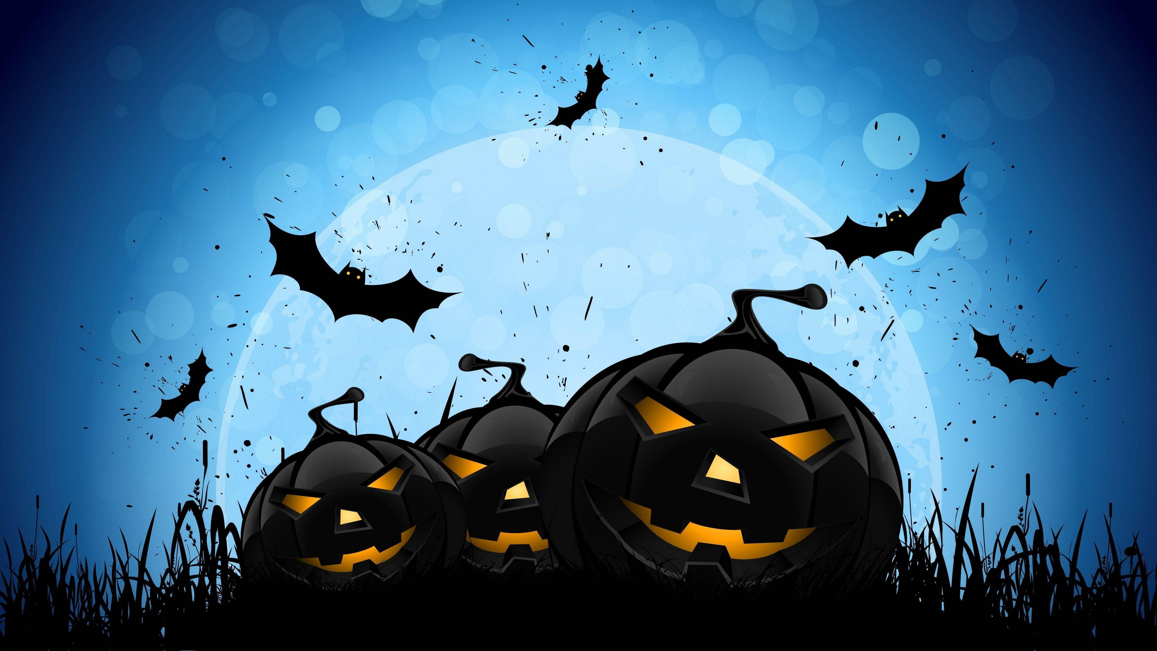 Halloween Wallpapers   Top Halloween Backgrounds 3840x2160