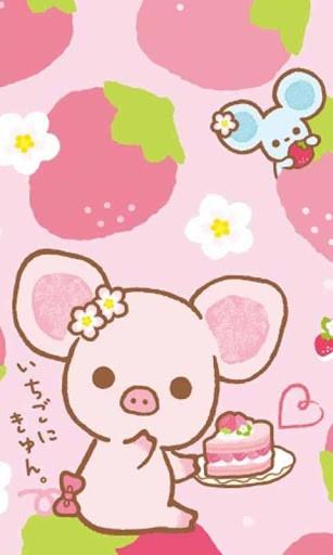 Cute Pig Wallpaper Iphone Piggy kawaii live wallpaper 307x512