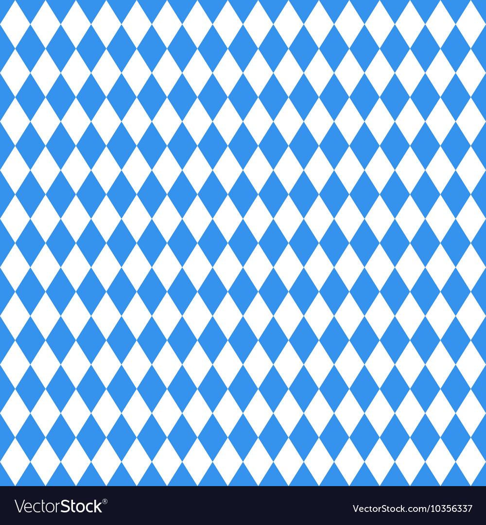 Oktoberfest blue rhombus background Royalty Vector 1000x1080