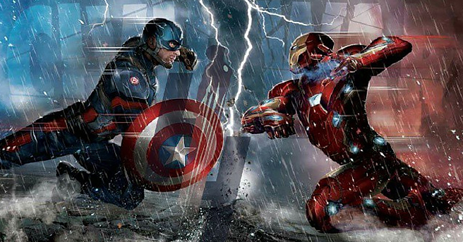 America Civil War will set up the real battle for Infinity War 656x343