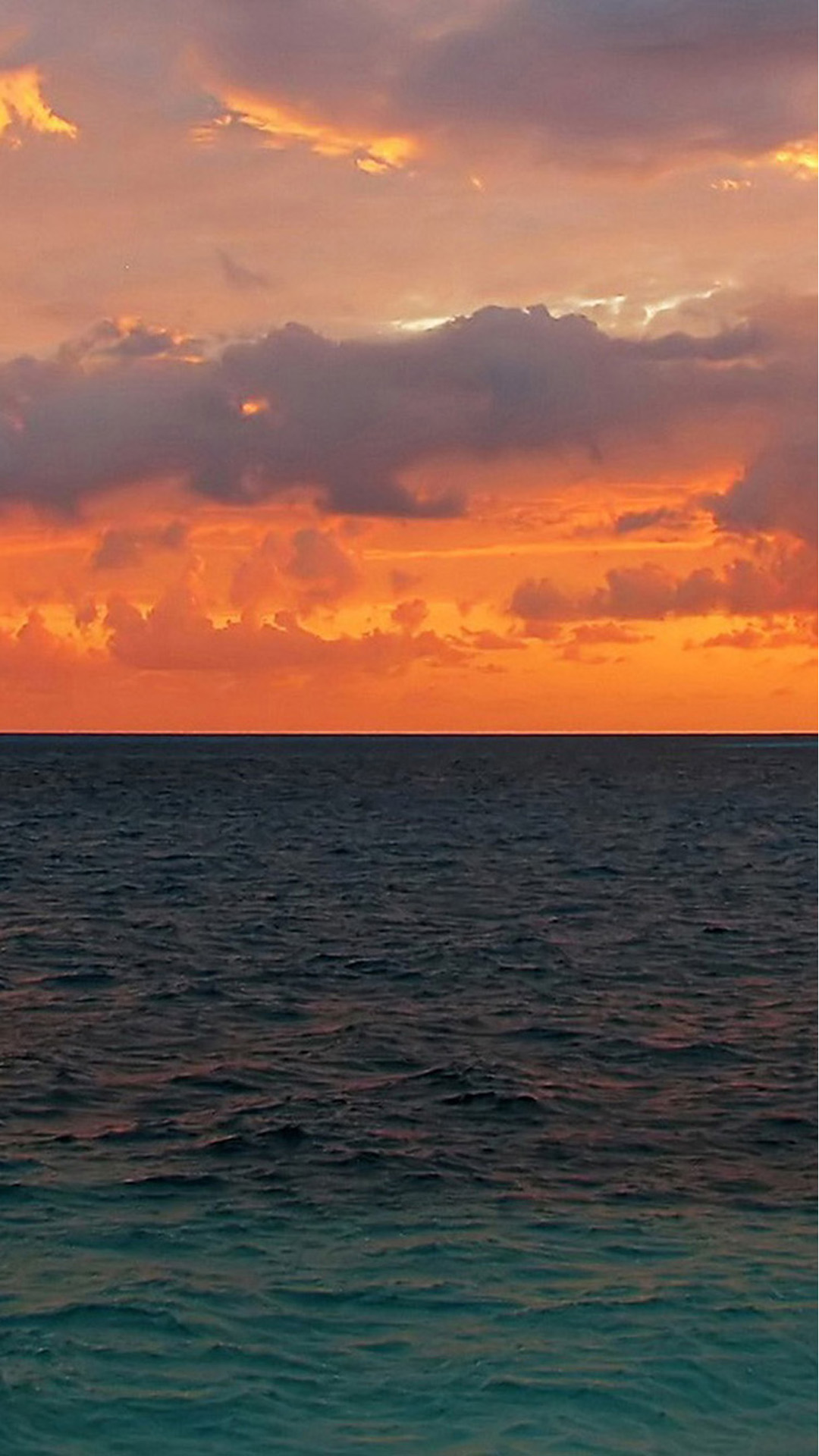 Free Download Sunset Ocean Surface Iphone 6 Wallpaper Download