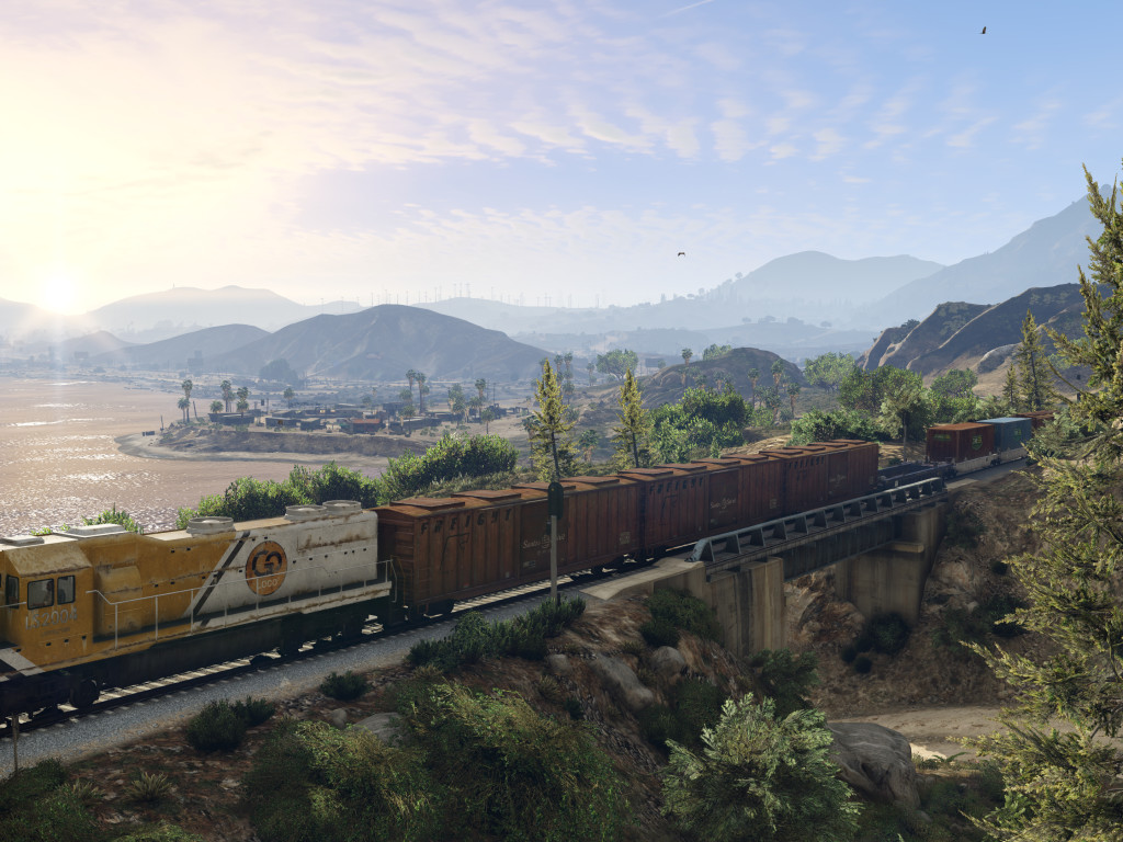 GTA 5 4K Desktop HD Wallpaper 4226 1024x768
