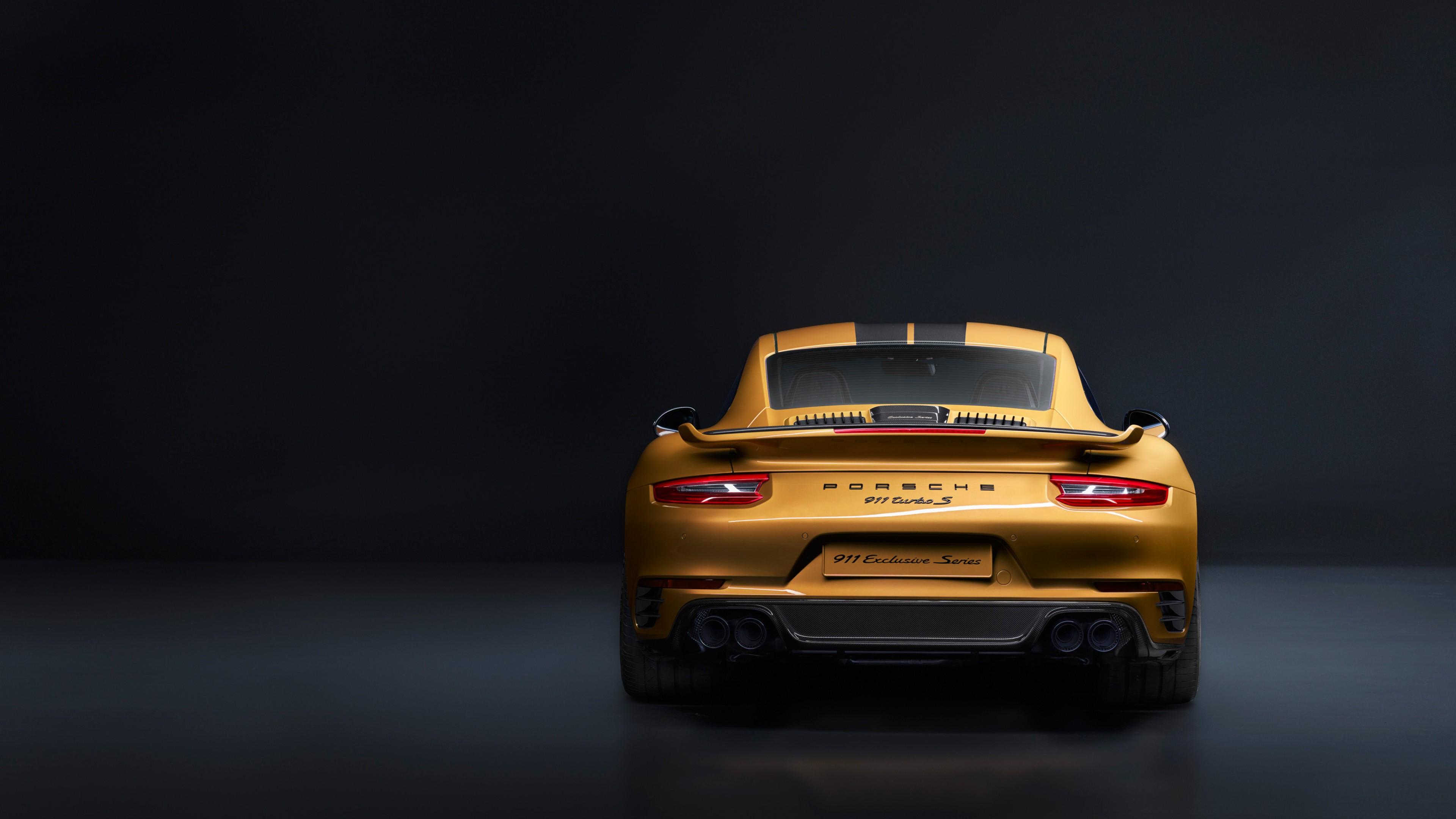 Porsche 911 Turbo S Exclusive Series 4k Wallpaper 3840x2160