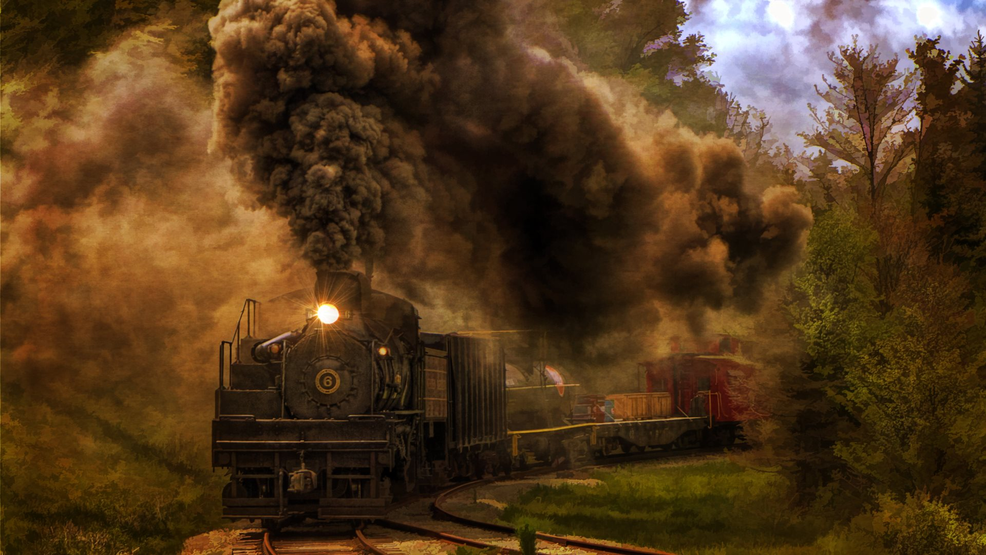 steam locomotive hd wallpapers - photo #15