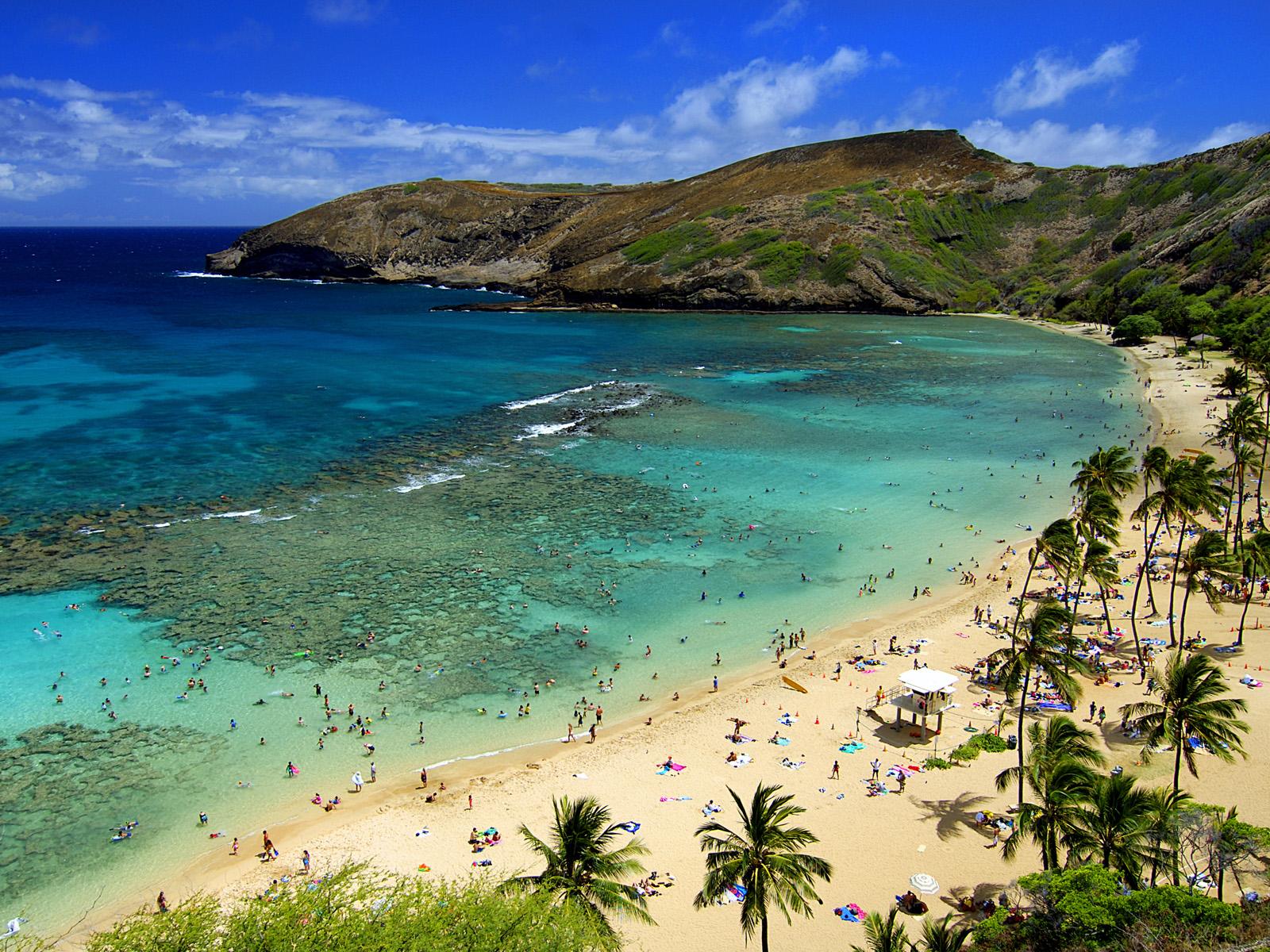 Hawaii Hd Wallpapers Hanauma Bay Oahu Hawaii HD Walls Find 1600x1200