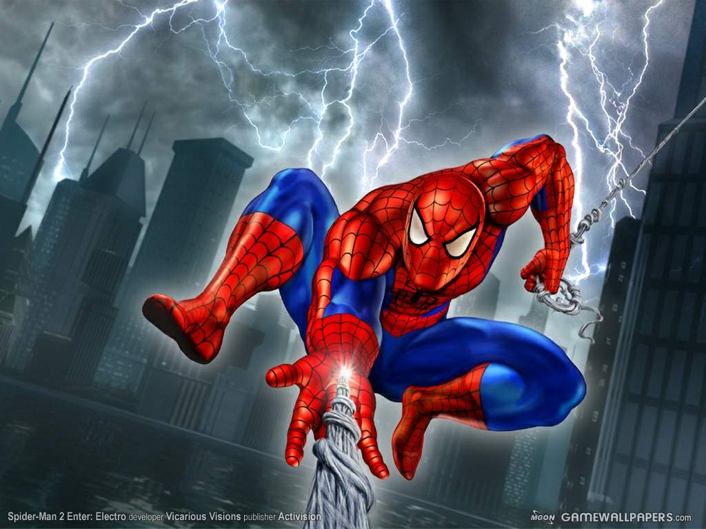 Spiderman desktop wallpaper   Superhero 1024x768