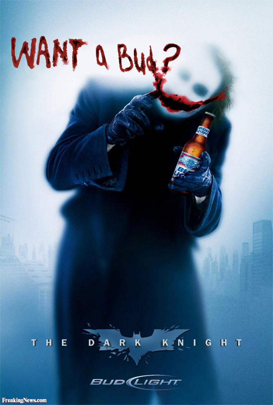 Dark Knight   Bud Light   pictures 878x1300