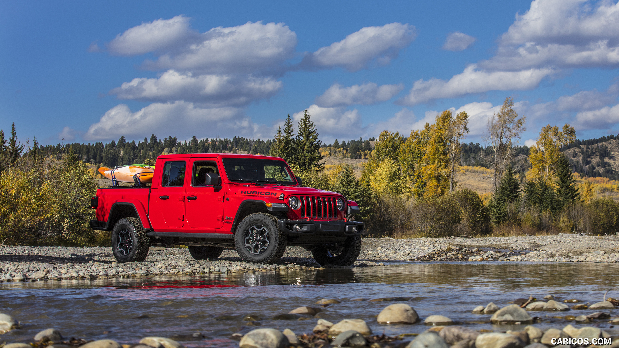 2020 Jeep Gladiator Rubicon   Off Road HD Wallpaper 35 2560x1440