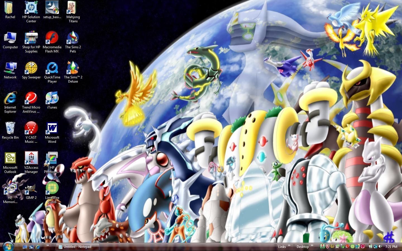 Pokemon card wallpapers wallpapersafari - All legendary pokemon background ...