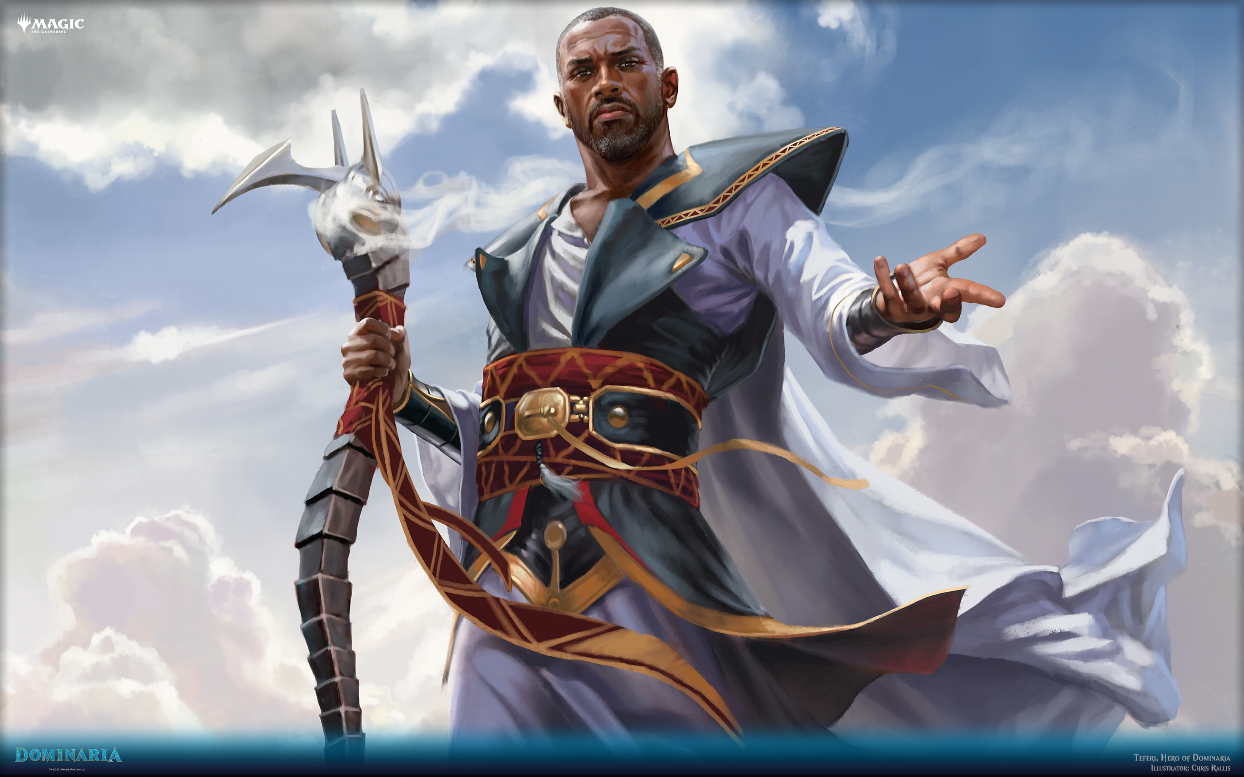 Teferi Hero of Dominaria Will Be the Best Card in Guilds of 2560x1600