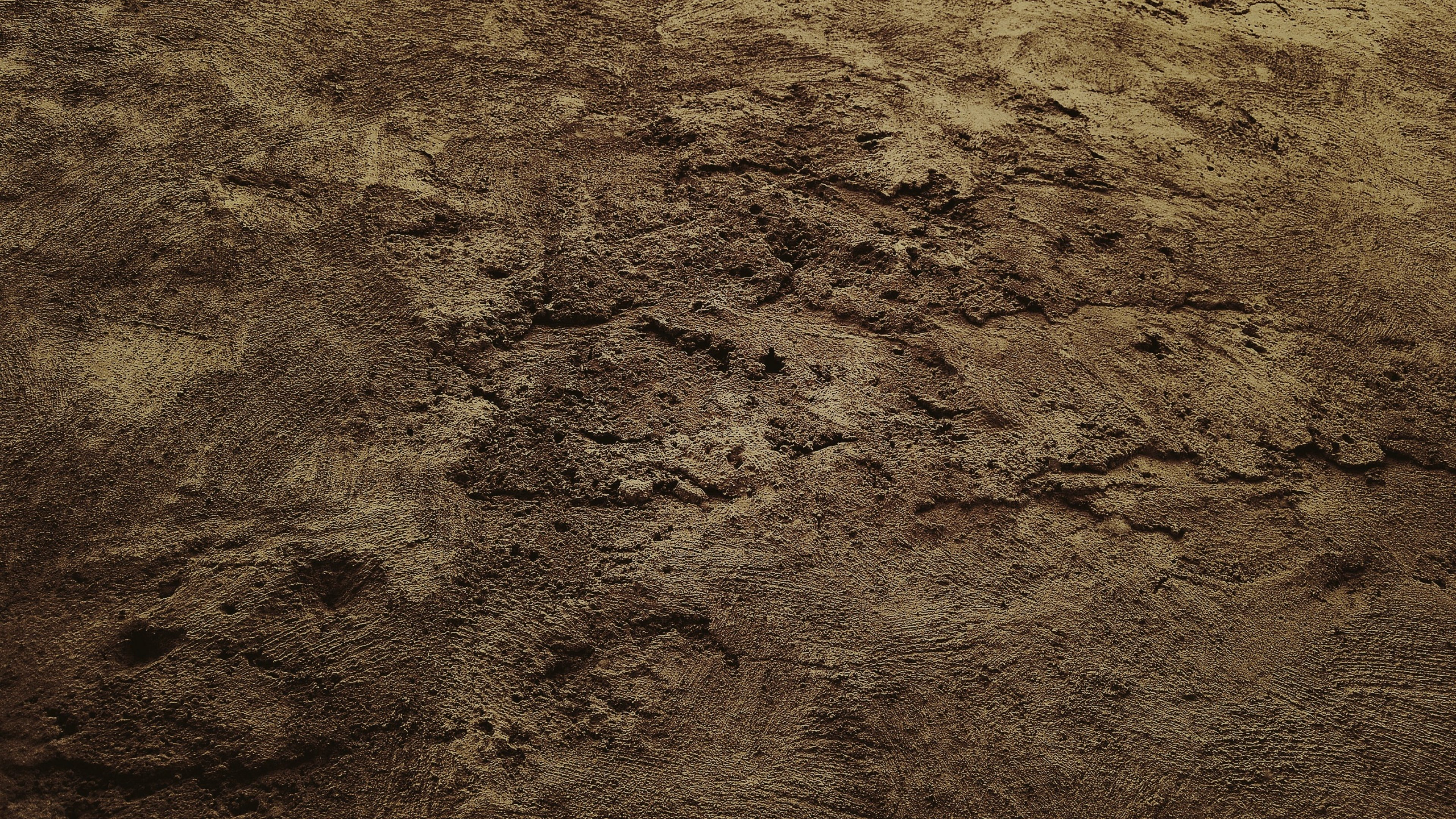 Texture Soil Sand Dirt Dark Wallpaper Background 4K Ultra HD 3840x2160