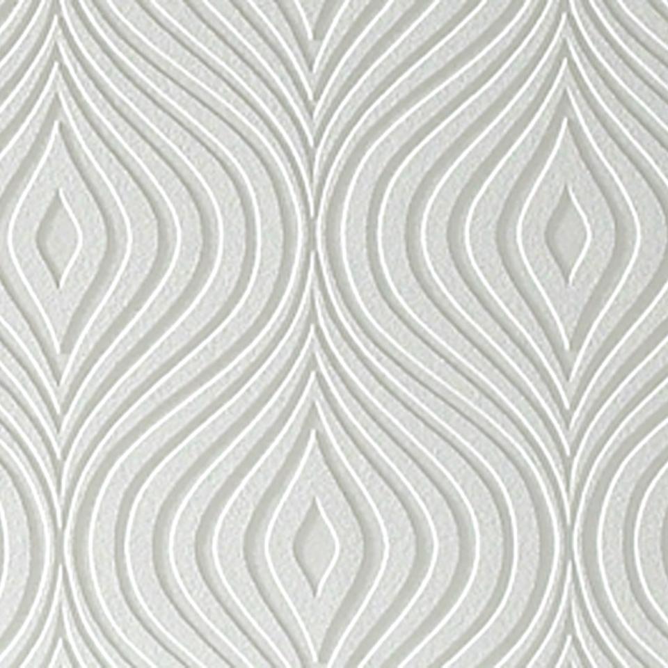 Paintable Wallpaper Curvy 960x960