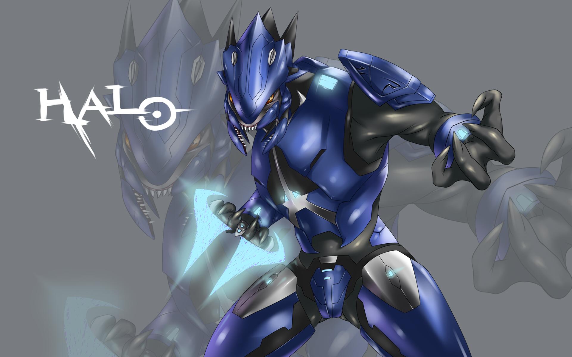 AssaultGodzilla collects Japanese Halo Fan Art   Part 3 1920x1200