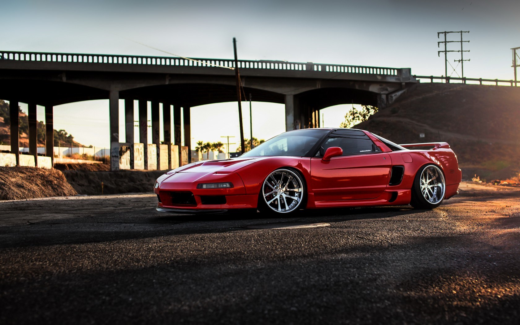 Honda Nsx Car Side Hd Wallpaper Wallpapers Style 1680x1050