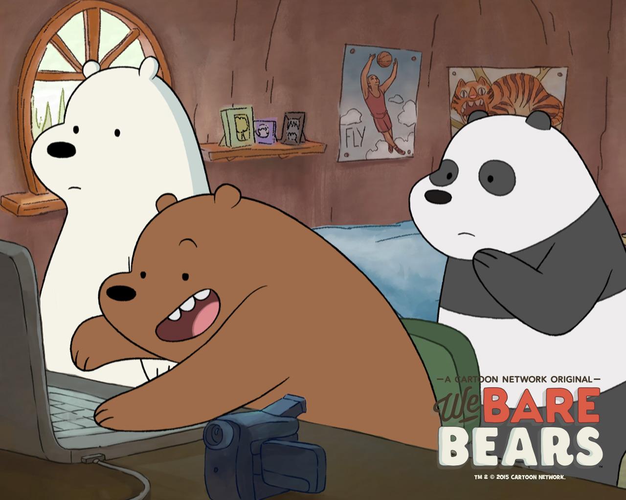 We Bare Bears Wallpaper - WallpaperSafari