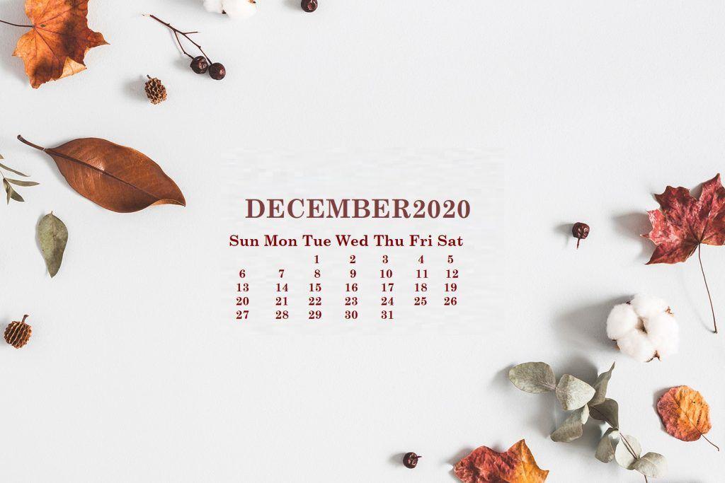 December 2020 Desktop Wallpaper Calendar Desktop wallpaper 1024x683