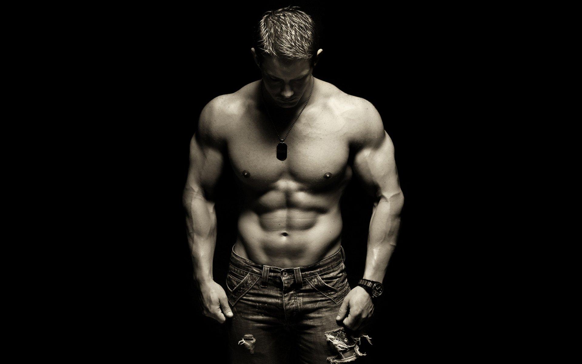 Muscle man wallpapers wallpapersafari - Man wallpaper ...