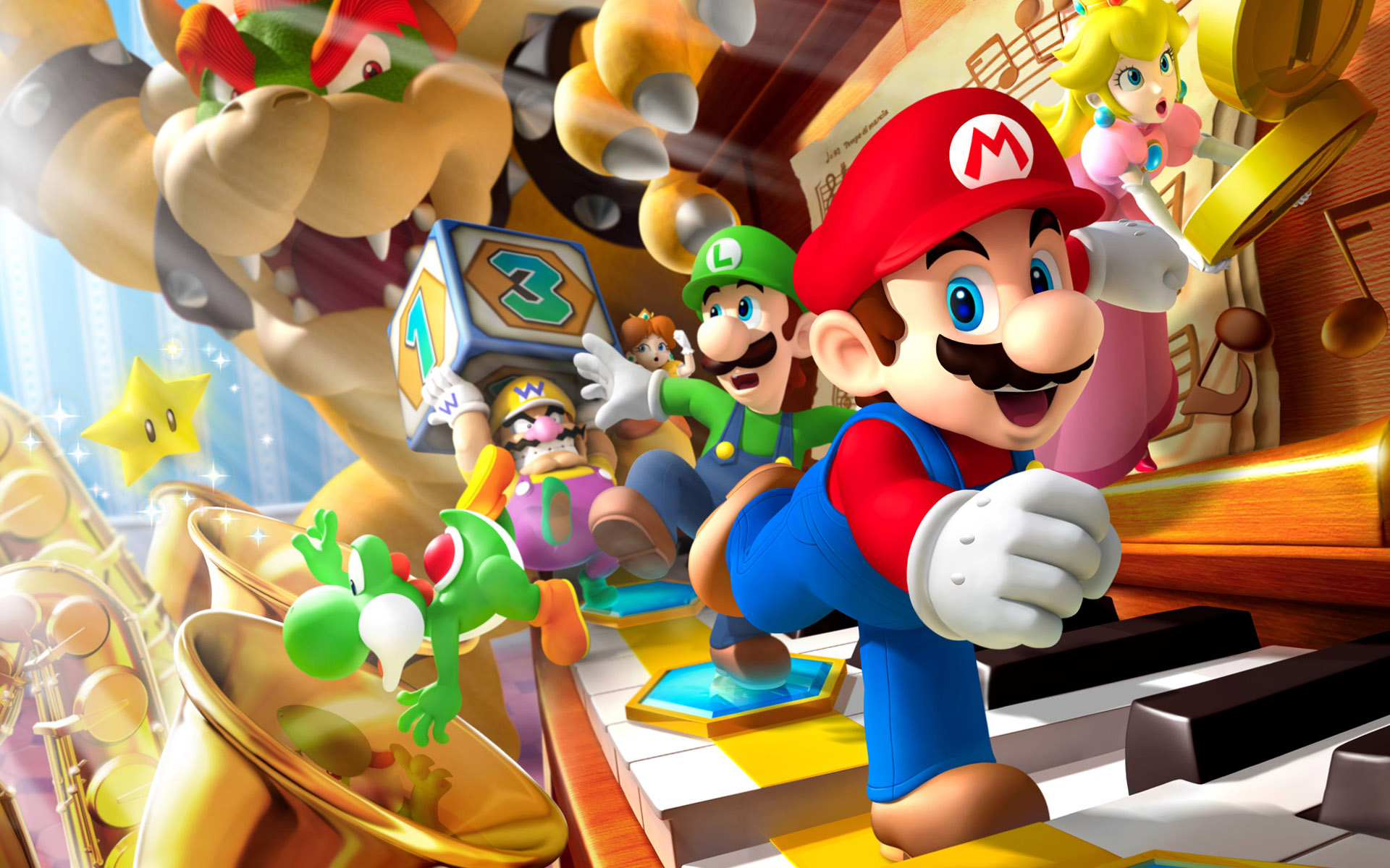 Mario Game Wallpapers HD Wallpapers 1920x1200