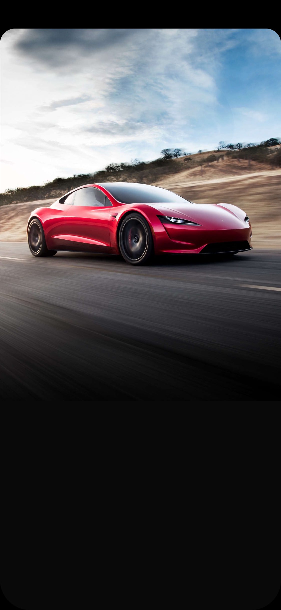Tesla Roadster 2020 Wallpapers For iPhone X iPad And Mac   iOS Hacker 1125x2436