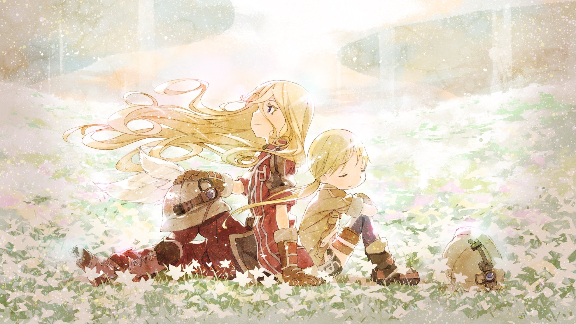 Made in Abyss Lyza Made in Abyss flowers Riko Made in 1975x1113