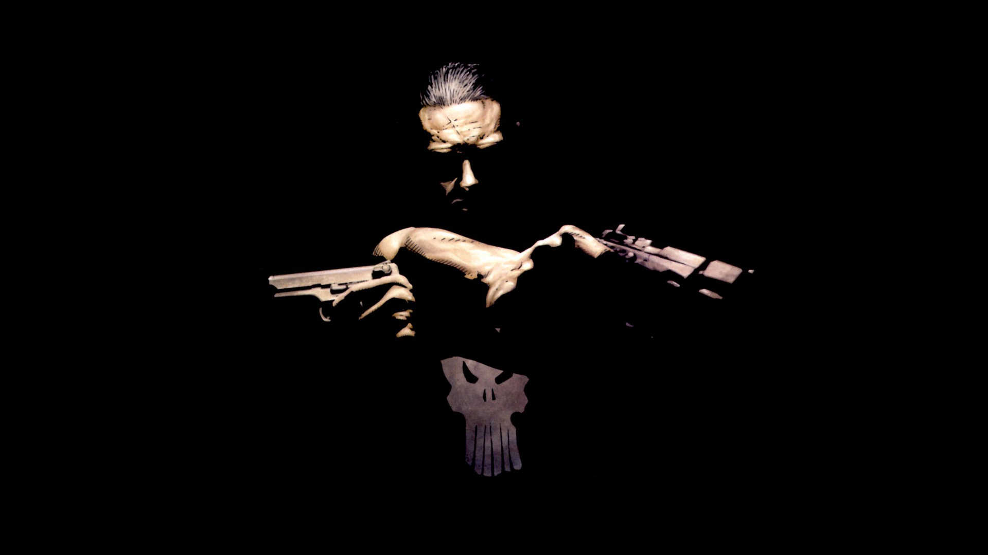 The Punisher Wallpaper 1920x1080 The, Punisher, Marvel, Comics