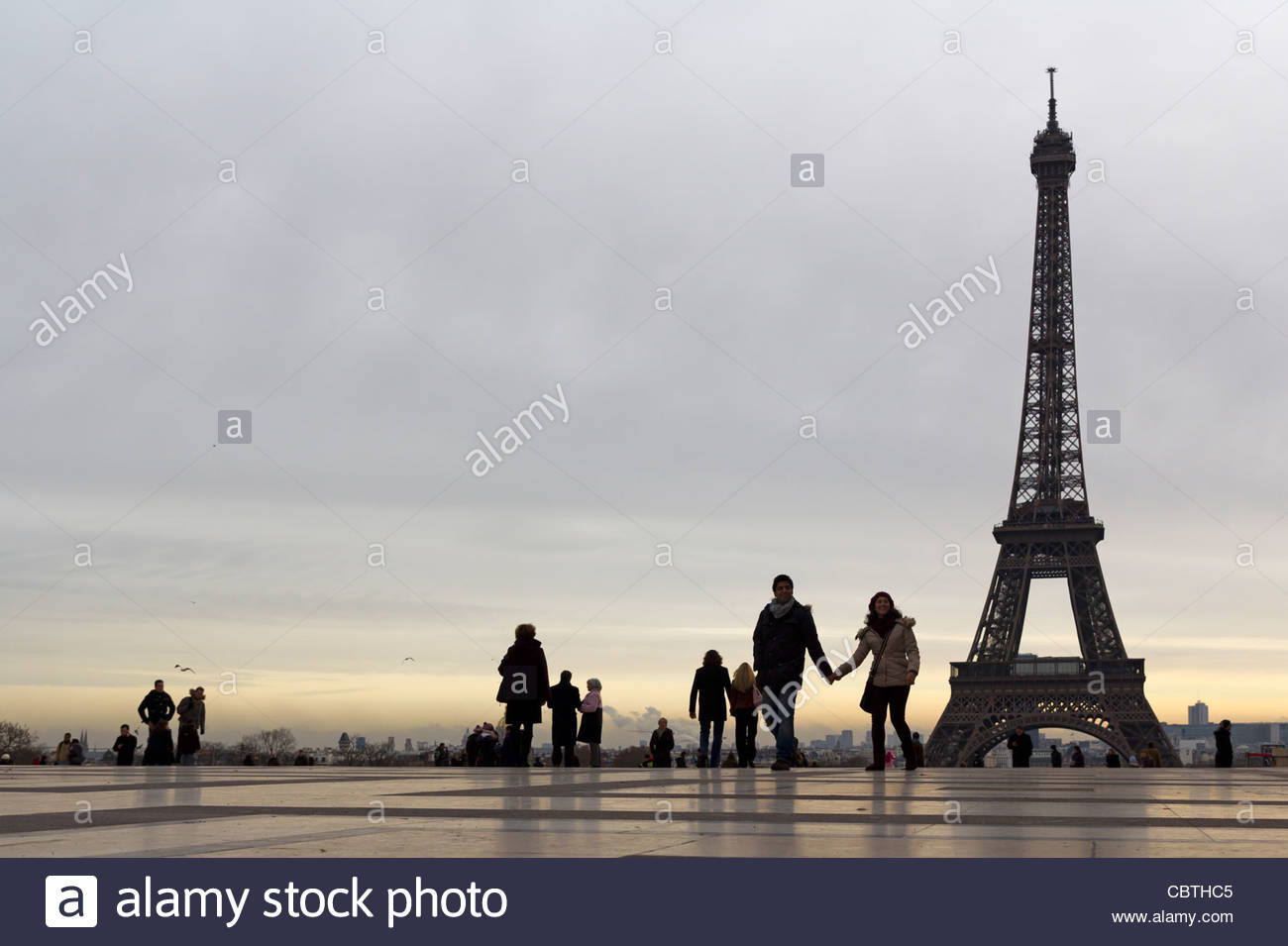 Place du Trocadro with Eiffel Tower in background Paris France 1300x955
