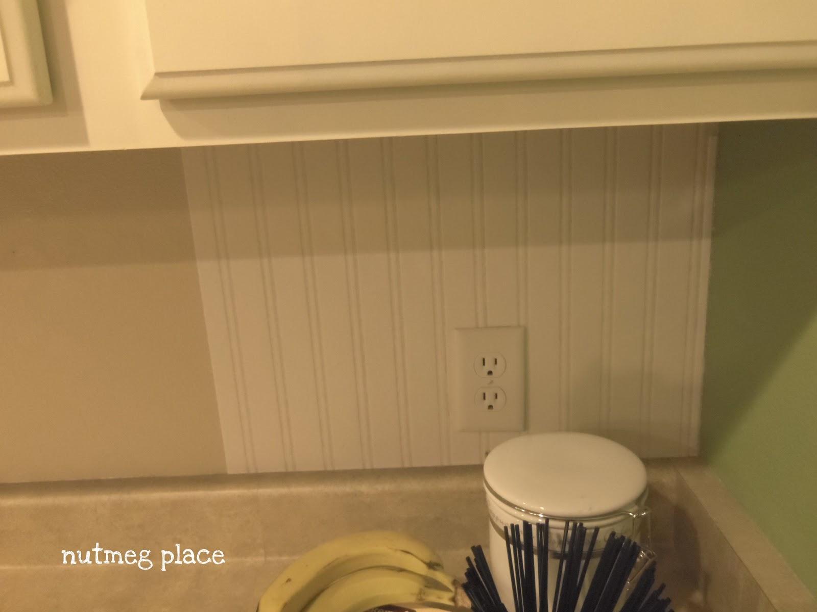 Beadboard Backsplash Using Wallpaper   Mom 4 Real 1600x1200