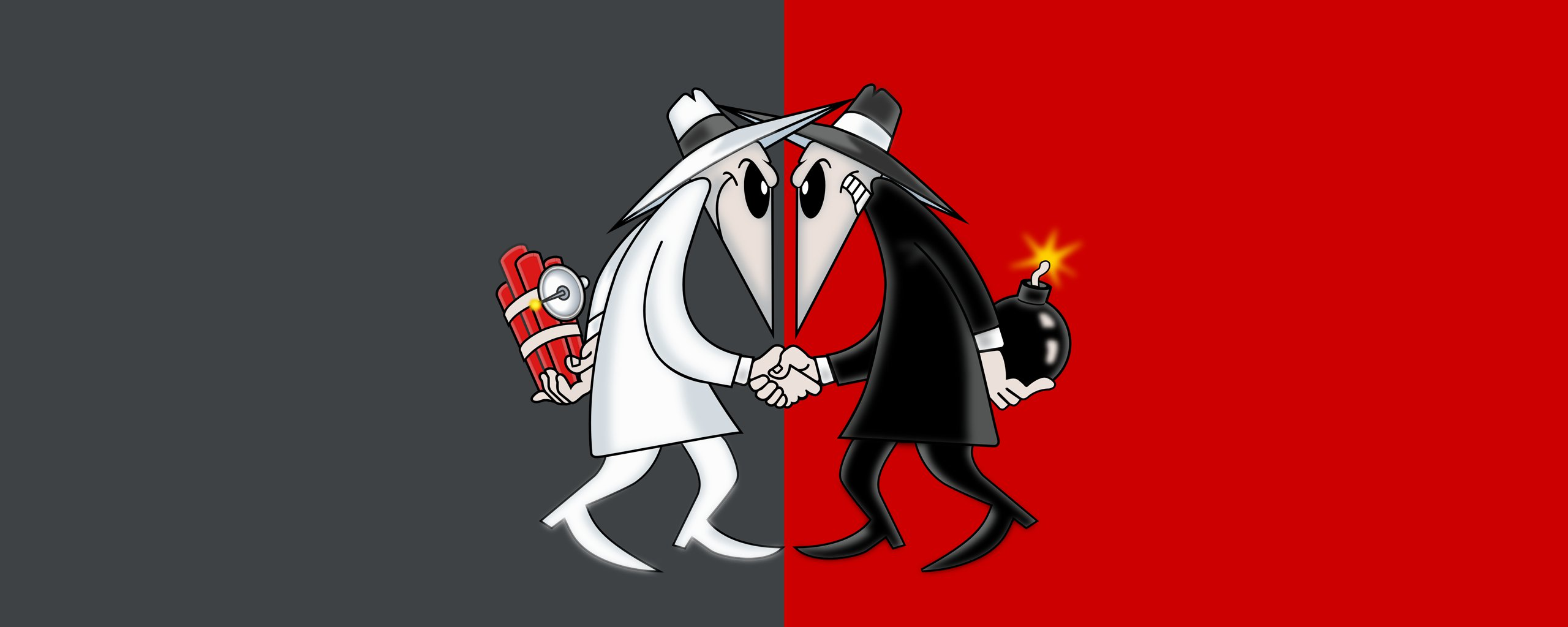Spy vs Spy WallPaper 2560X1024 by Zarious 2560x1024