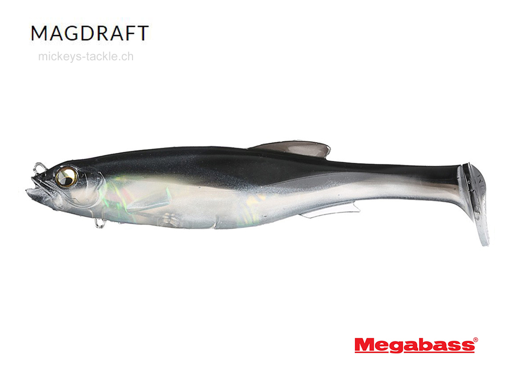 Megabass Magdraft Silver Shad 6 inch 1024x768