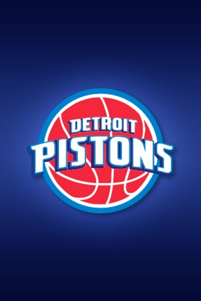 Detroit Pistons iPhone Wallpaper HD 640x960