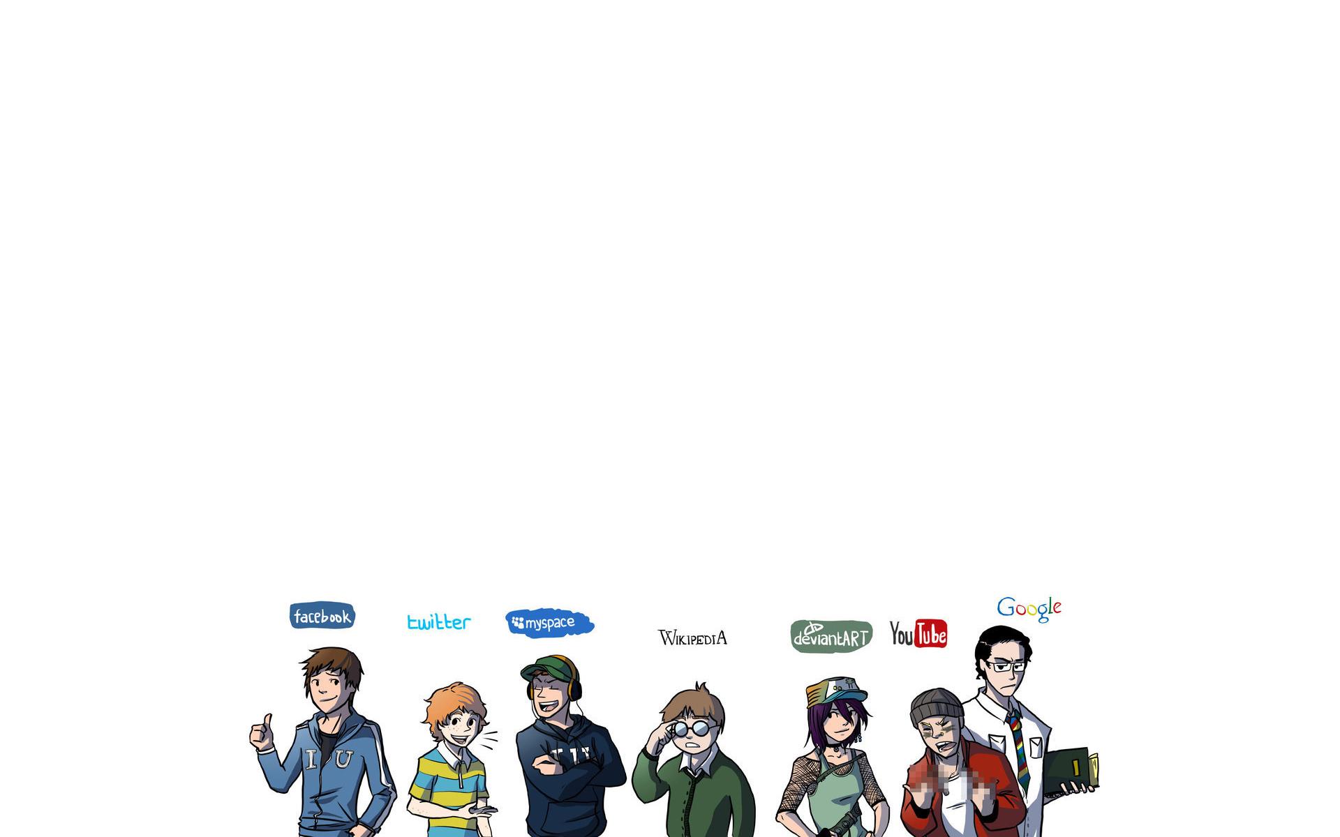 Social Networks wallpaper   365990 1920x1200