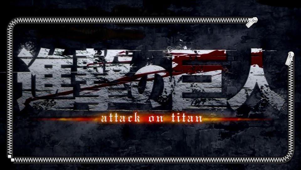 Attack On Titan Logo Lockscreen PS Vita Wallpapers   PS Vita 960x544