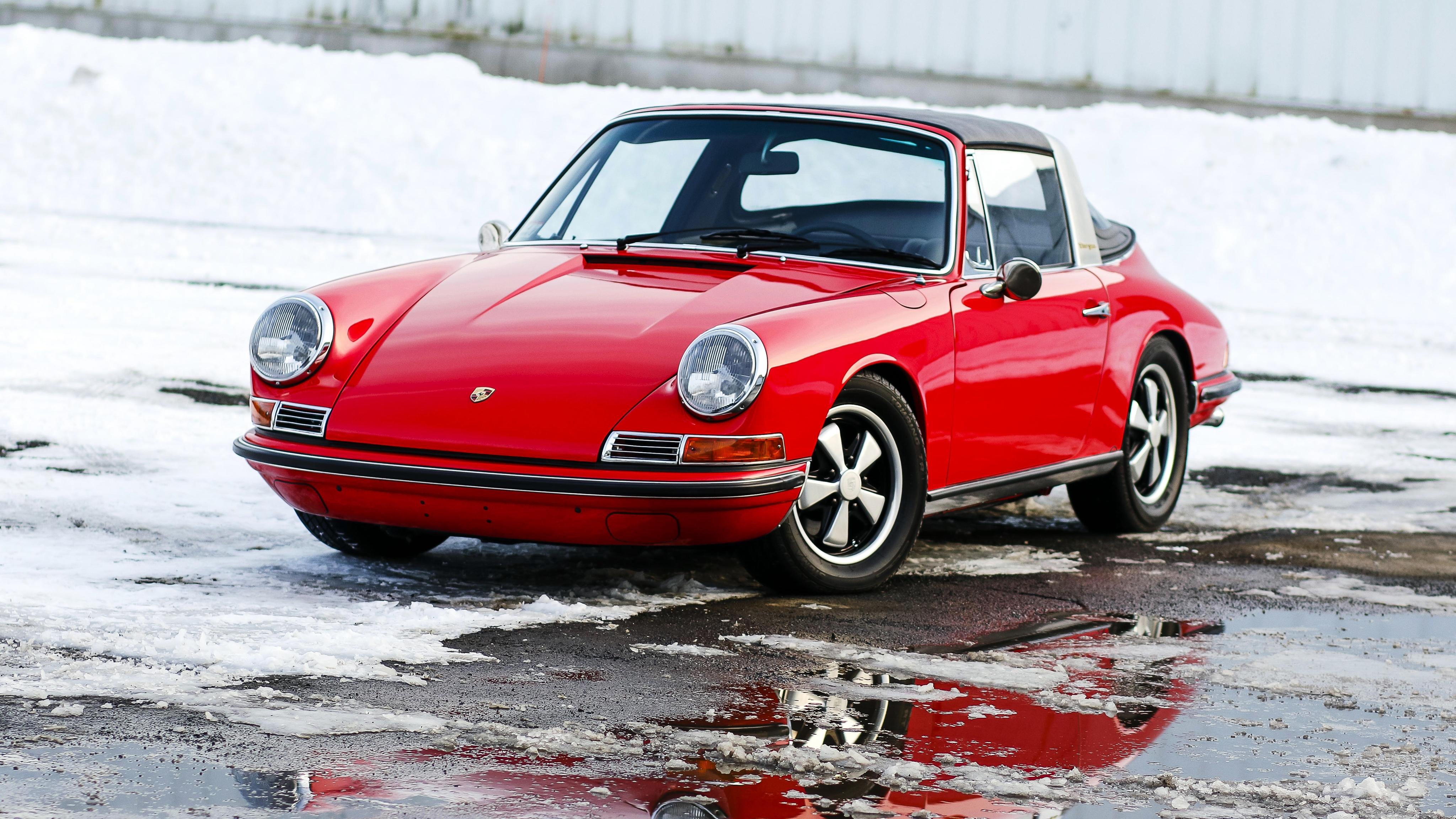 Porsche 911 Targa Wallpapers Pictures Images 4096x2304
