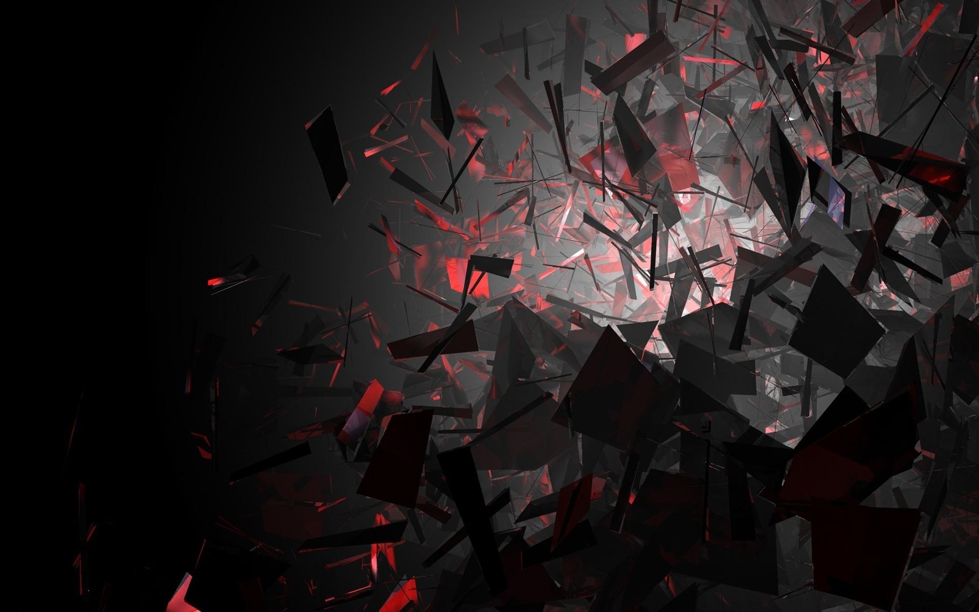Black And Red 4K Wallpaper WallpaperSafari