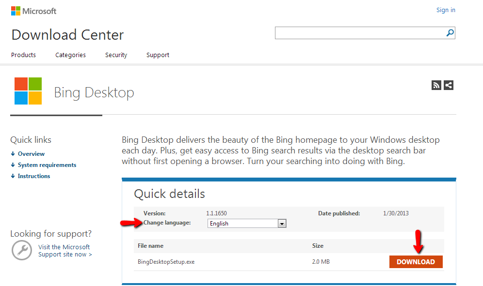 to Auto Set Daily Bing Background As Your Desktop Wallpaper in Windows 996x591