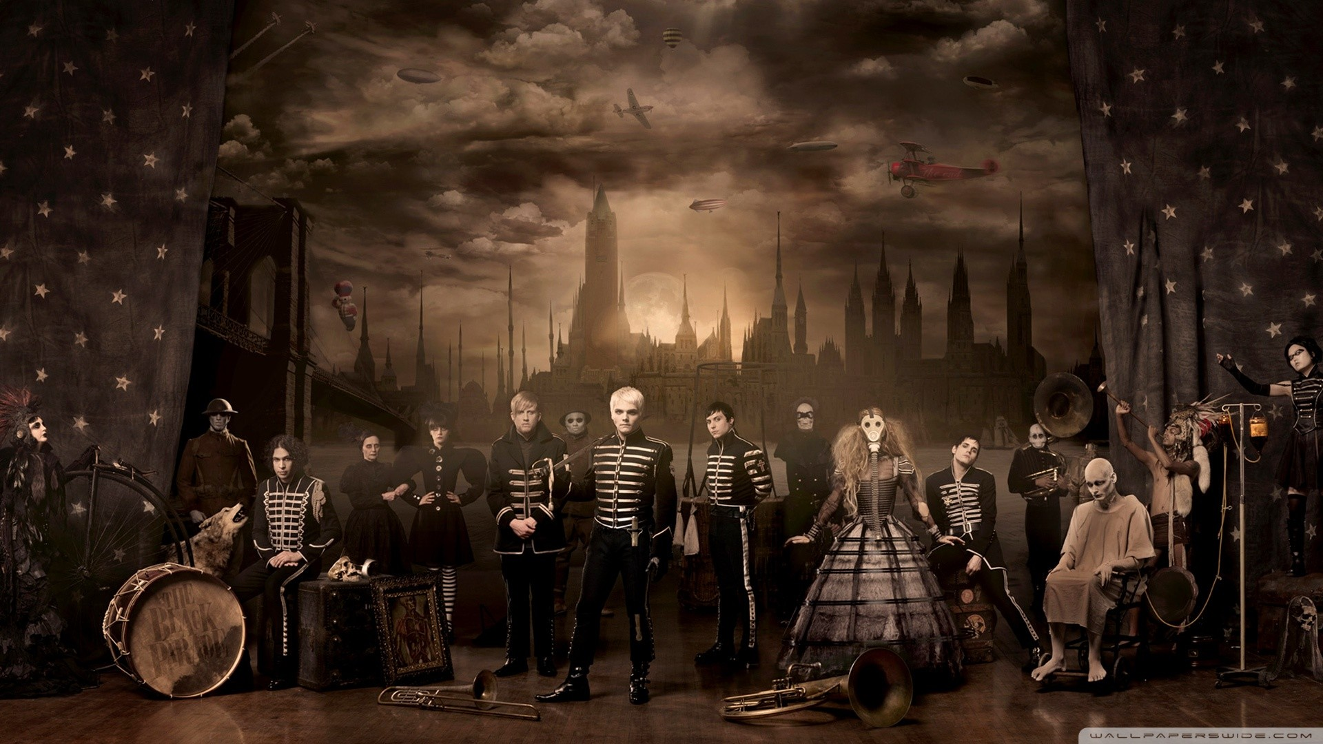 The Black Parade Wallpaper 66 images 1920x1080