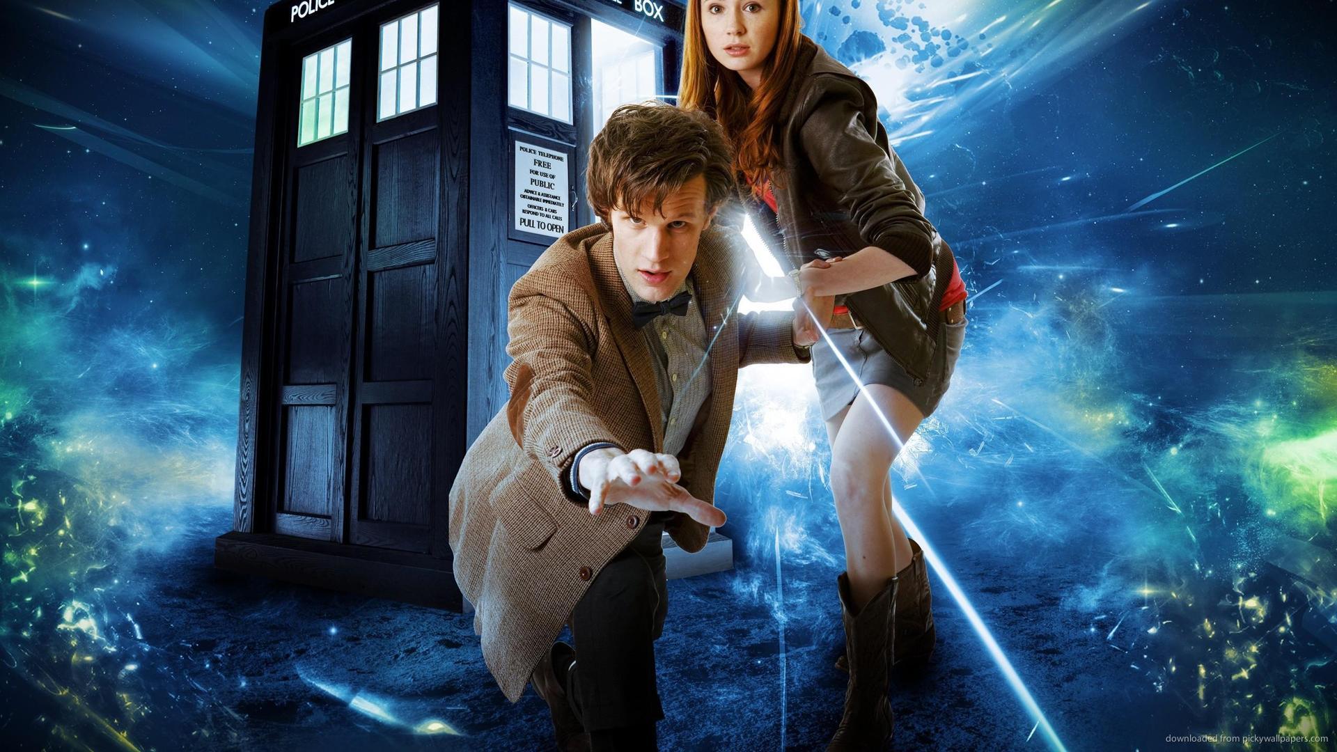 Doctor Who Matt Smith And Karen Gillan picture 1920x1080