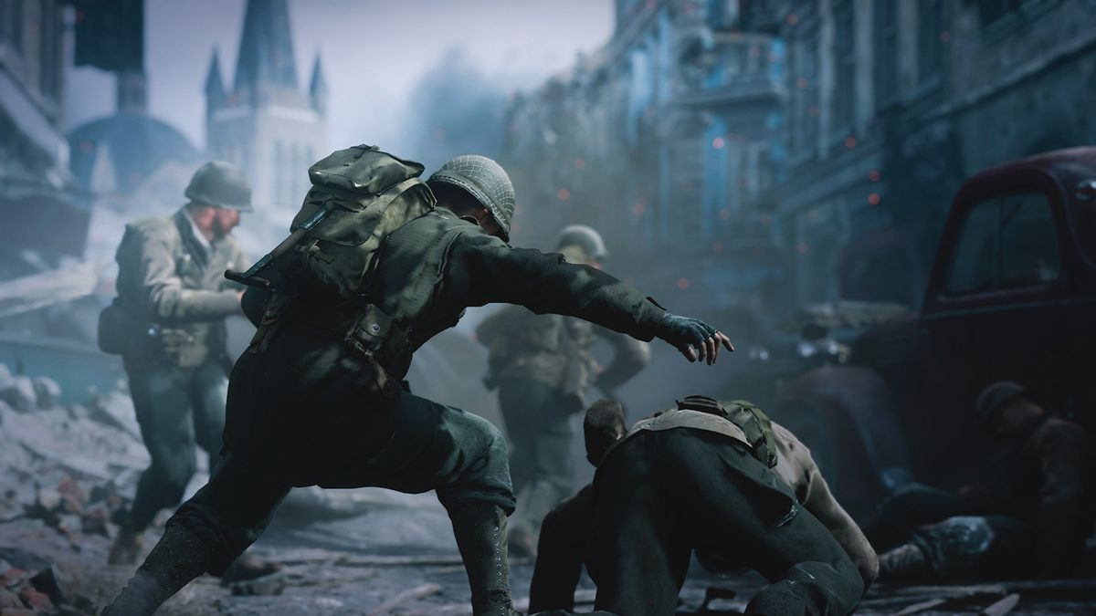 Call of Duty WWII will highlight the vulnerability of its heroes 1200x675