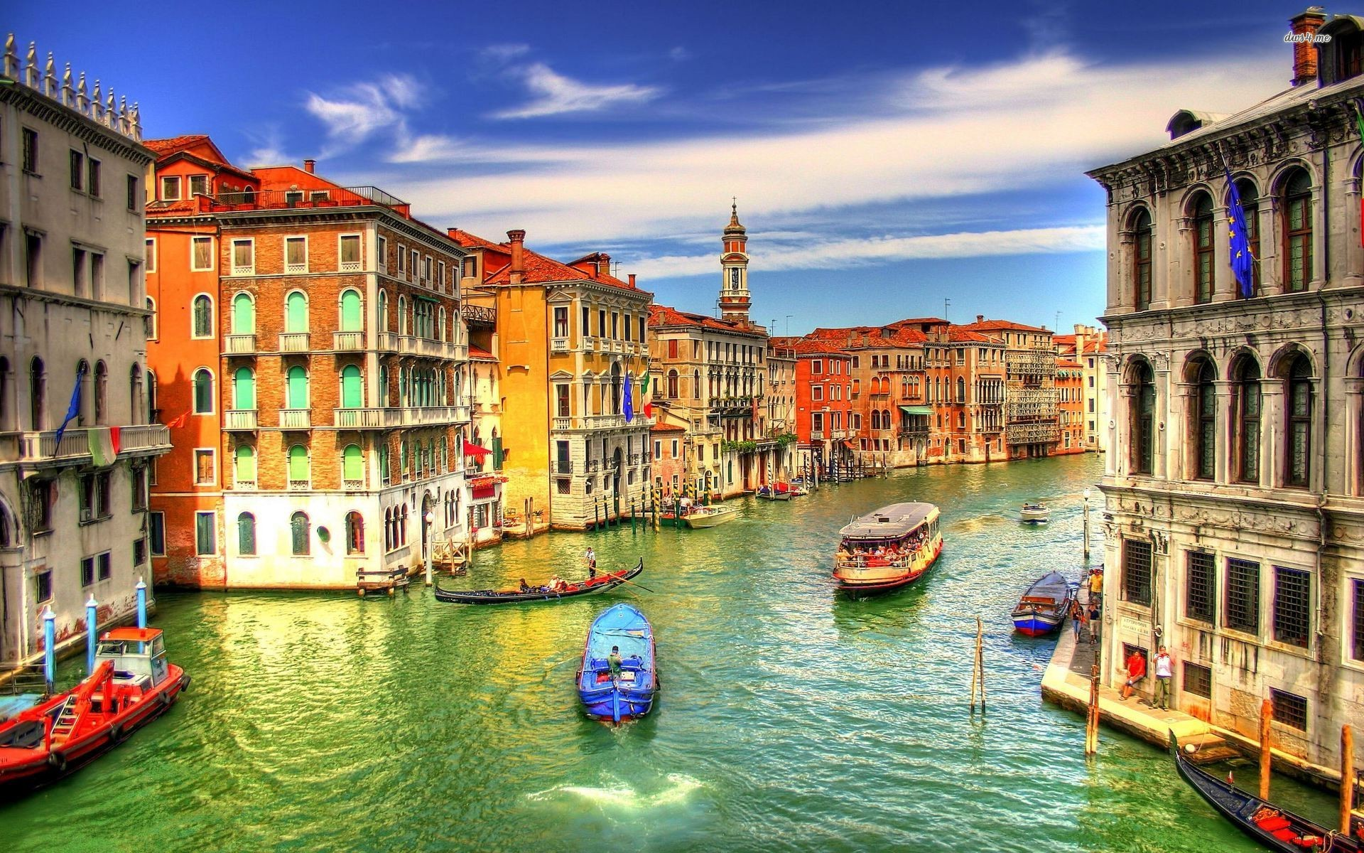 Venice On Map Of Euro HD Wallpaper Background Images 1920x1200
