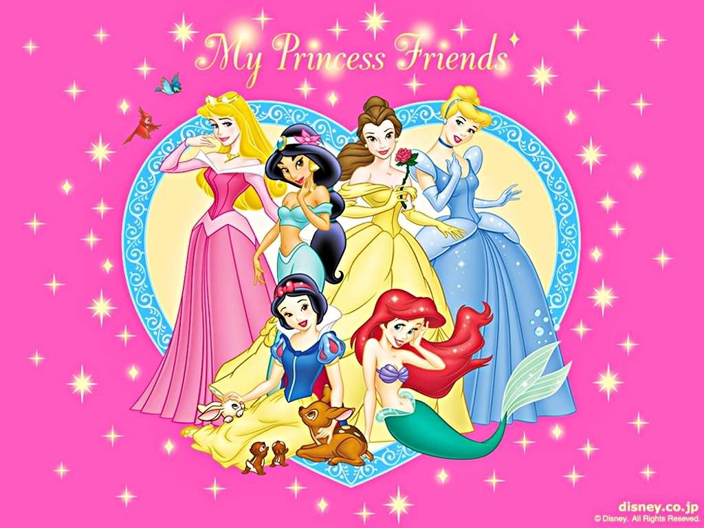 Disney Wallpapers   The Disney Princesses   Walt Disney Characters 1024x768