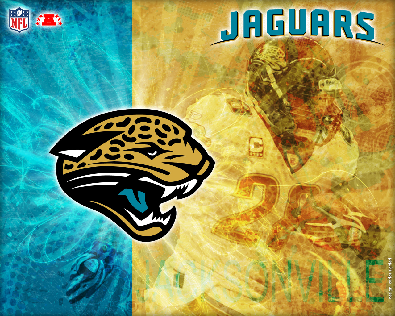 Pin Pin Nfl Wallpapers Jacksonville Jaguars Logo Wallpaper Tattoo On 1280x1024