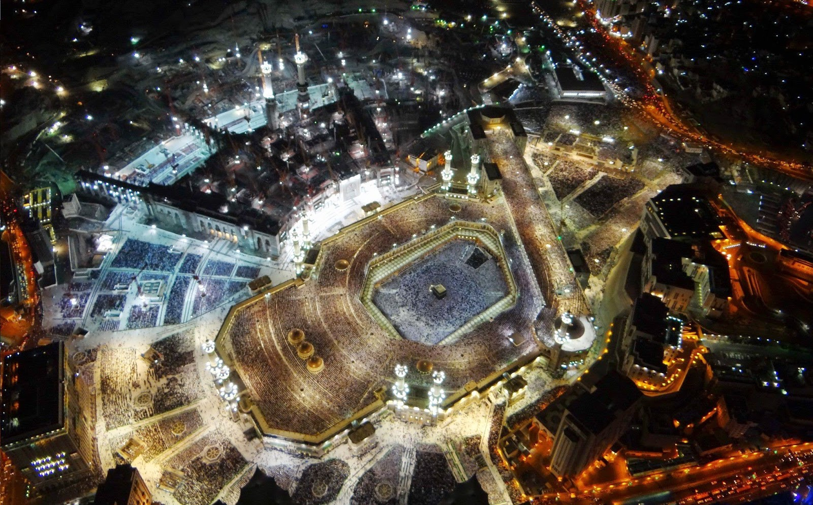 Allinallwalls Great Photographs of Makkah Makkah mosque 1600x995