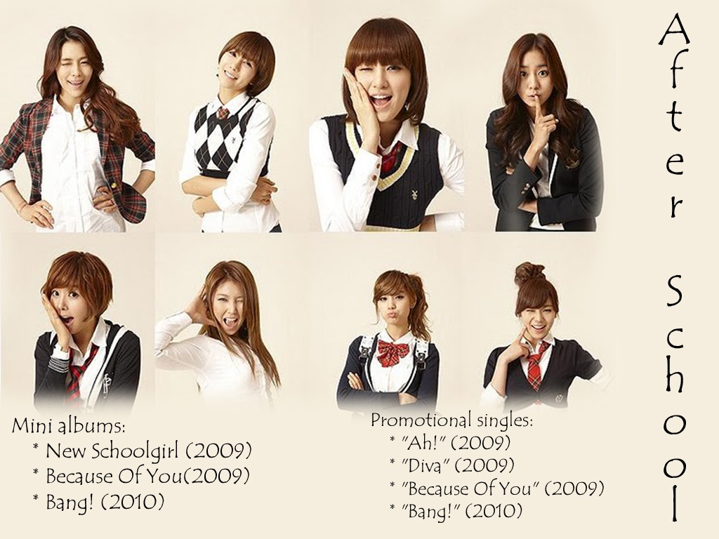 After School Wallpaper Kpop And Kdrama Lovers 1024x768