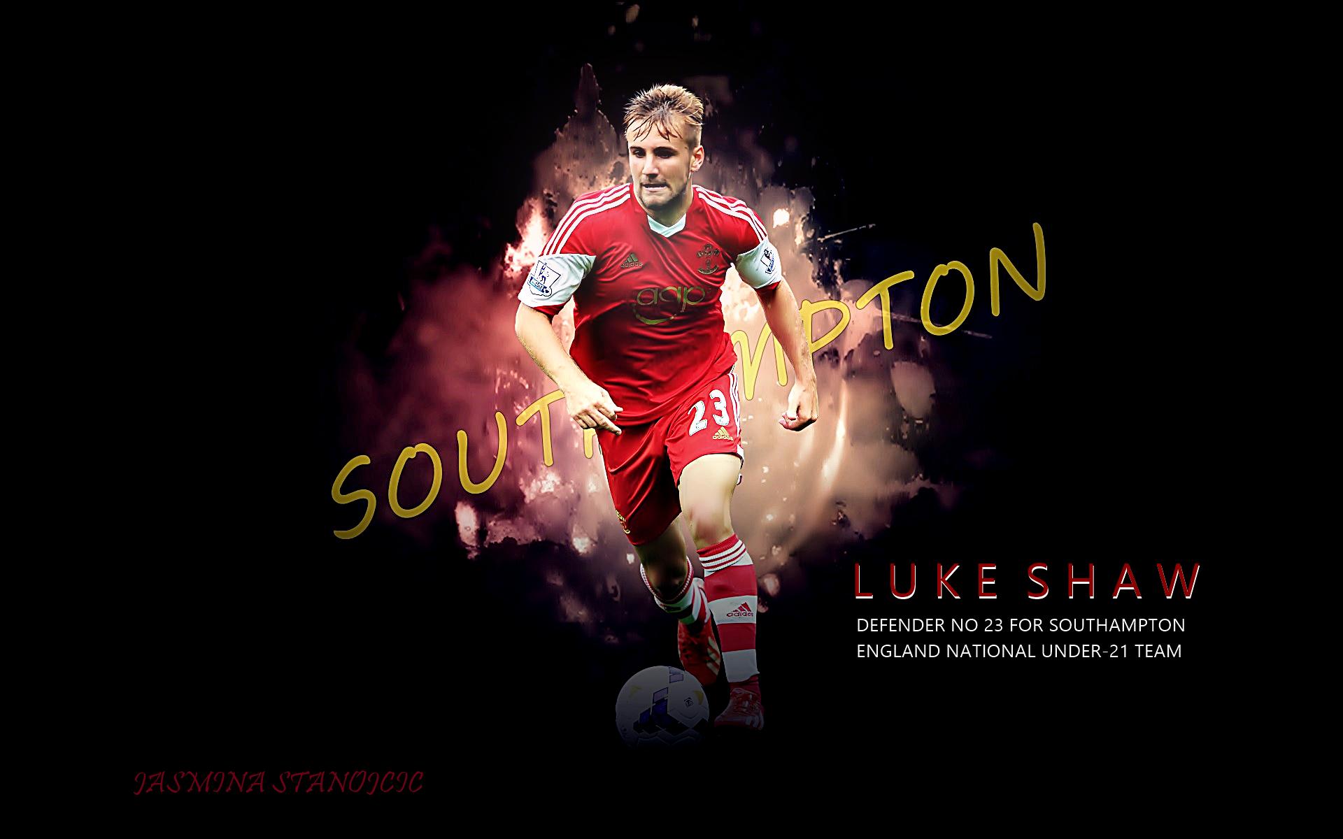 Luke Shaw Southampton Wallpaper HD 2014 1 Football 1920x1200