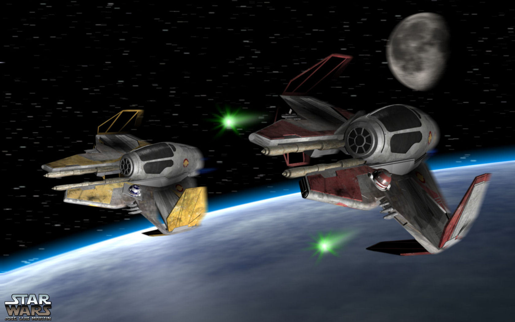 Star Wars images Jedi Fighters wallpaper photos 15486193 1680x1050