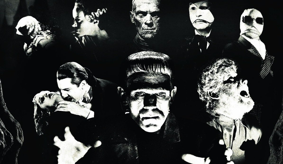 for classic universial horror movie monsters biography wallpaper 1194x692