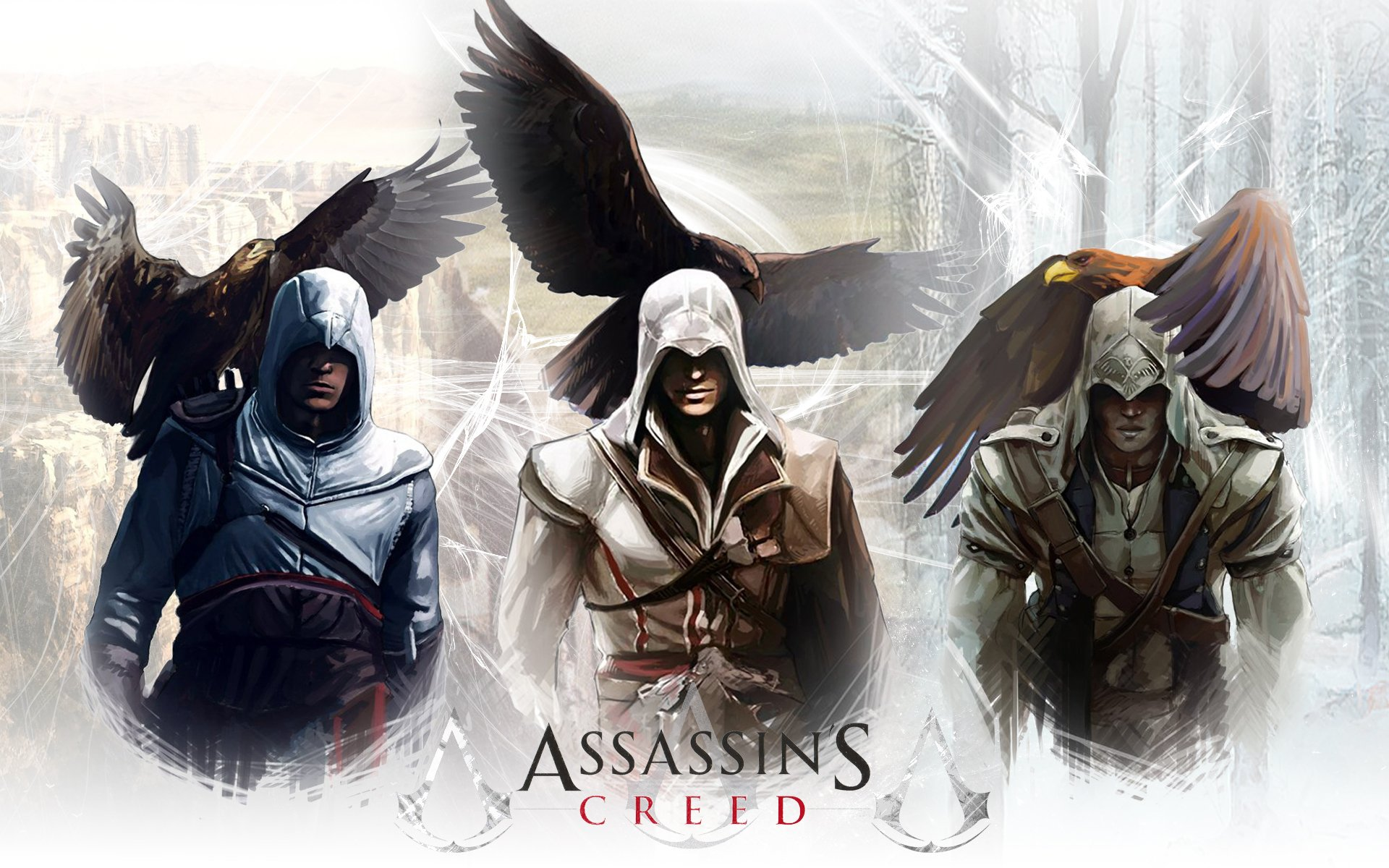 Free Download Assassins Creed Wallpaper Altair Ibn La Ahad Altair
