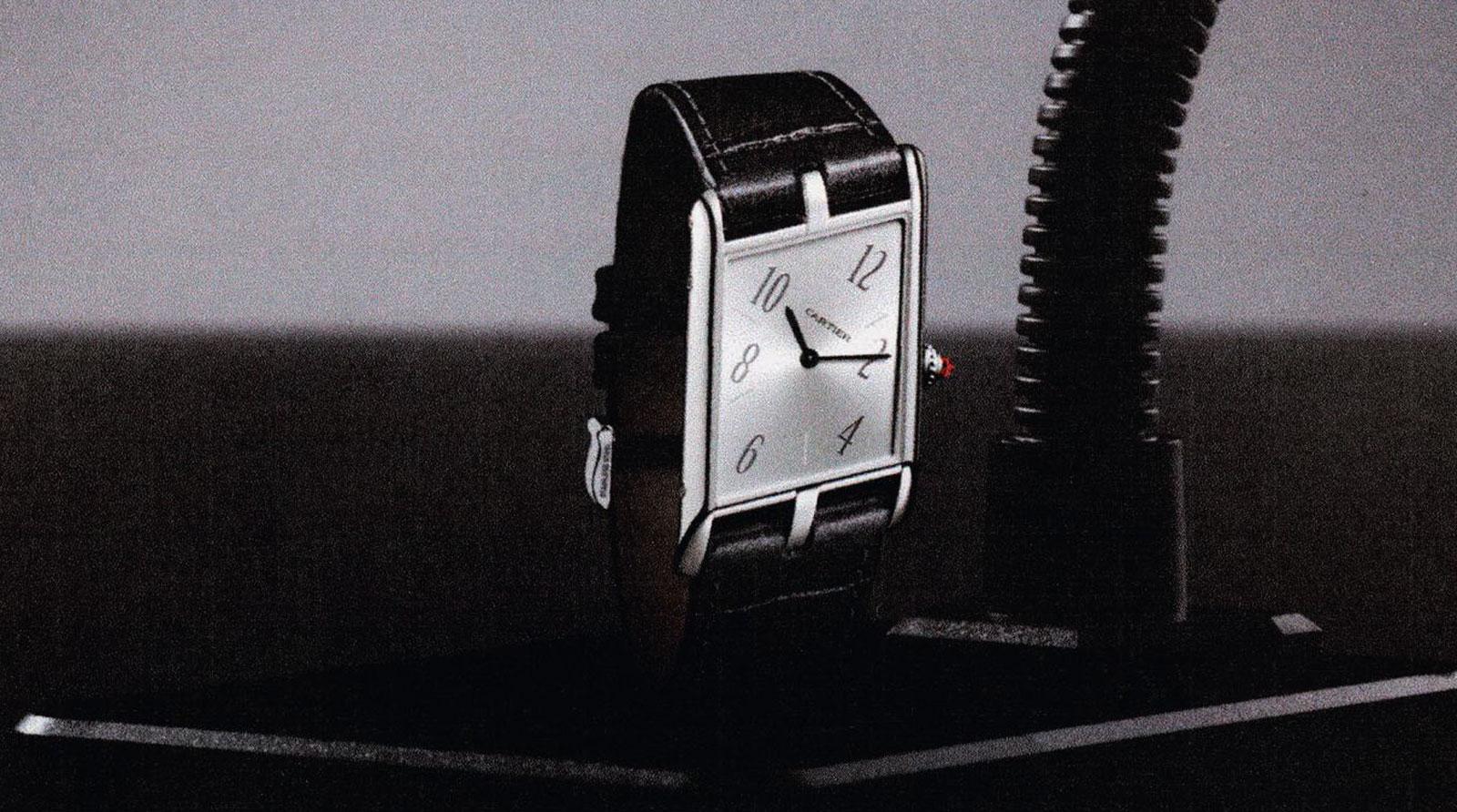 Cartier Tank Asymtrique wins Best Watch Revival Wallpaper 1600x892