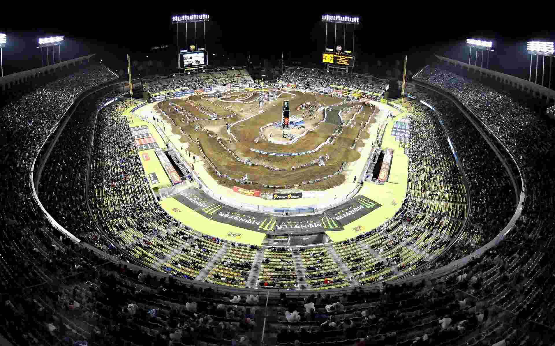Supercross at Dodger Stadium wallpaper   Motocross   Sport   Wallpaper 1920x1200